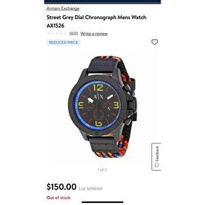 Armani 1526 Wrist Watch